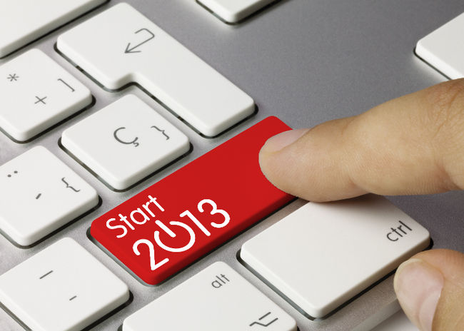start 2013 resolutions