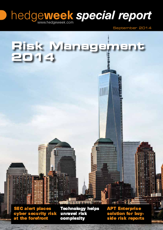 Hedgeweek Risk Report Cover
