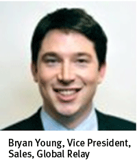Bryan Young vice president of sales global relay