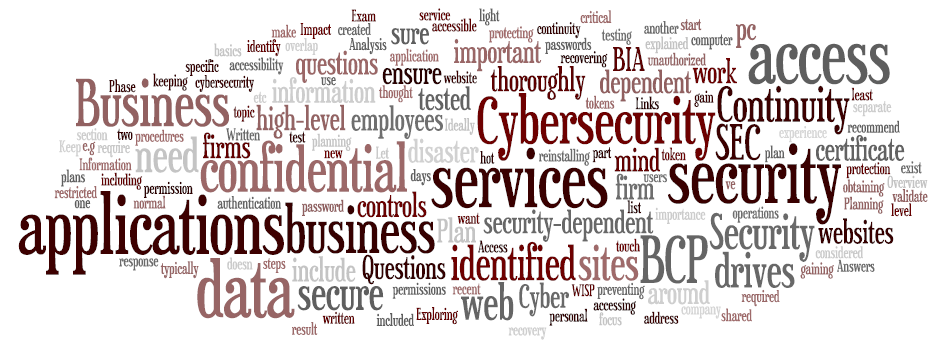Exploring the Links between Cybersecurity and Business Continuity