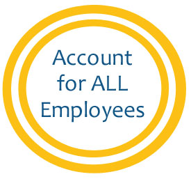 In a disaster, account for all employees