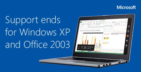 Microsoft XP End of Support