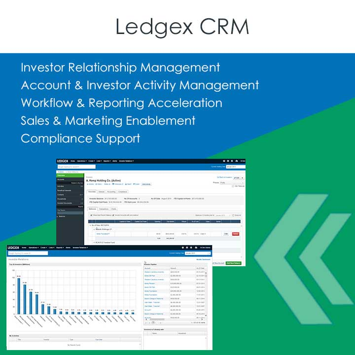 Ledgex CRM, Hedge Fund Technology