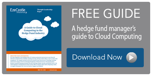 Cloud Guidebook for Hedge Fund Managers