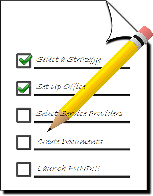 Hedge Fund Launch Checklist; Launching a hedge fund