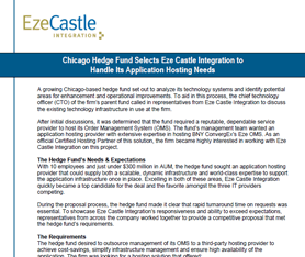 Case Study: Chicago Firm Looks to Eze Castle for Application Hosting