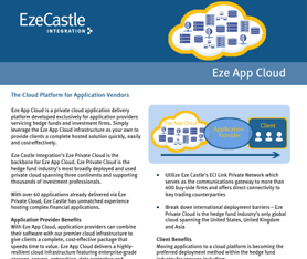 Data Sheet: Eze App Cloud