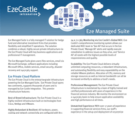 Data Sheet: Eze Managed Suite