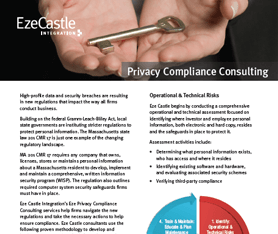 Data Sheet: Eze Privacy Compliance