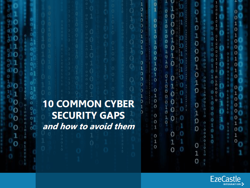 Common Cyber Security Gaps eBook