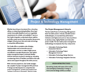 Data Sheet: Project & Technology Management