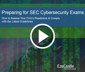 Webcast: Preparing for SEC Cybersecurity Exams
