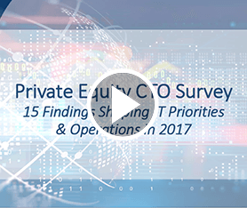 Webcast: Private Equity CTO Survey Findings