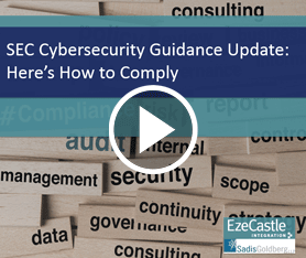 Webcast: SEC Cybersecurity Guidance Update