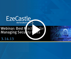 Webcast: Best Practices for Managing Security Risks