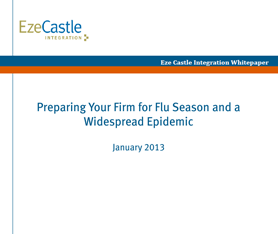 Whitepaper: Preparing Your Firm for Flu Season