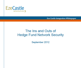 Whitepaper: The Ins and Outs of Hedge Fund Network Security