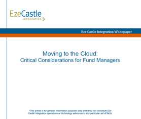 Whitepaper: Critical Considerations for Moving to the Cloud