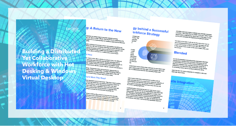 Hot Desking and VDI Whitepaper Look Inside